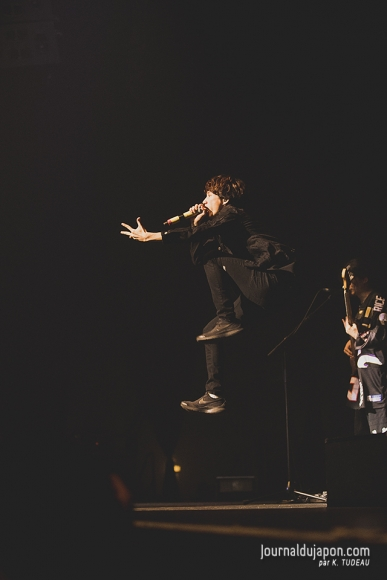 One Ok Rock au Zénith 22/12/2017 Photo Kevin Tudeau © journaldujapon.com - Tous droits réservés.