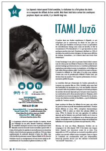 ITAMI Juzo, photo sous la propriété de 108 étoiles du Japon