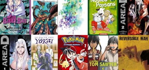 Selection manga juin