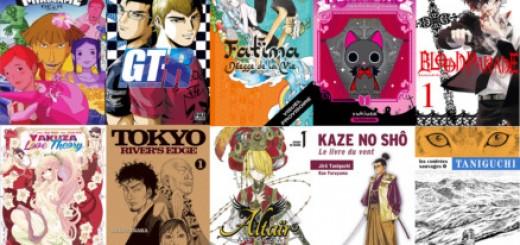 Licences manga septembre
