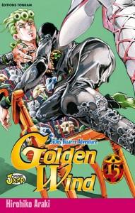 Illustration de couverture de Golden Wind