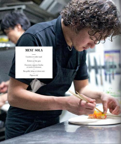 Pour no l d couvrez les chefs nippons en france et for Restaurant japonais chef cuisine devant vous