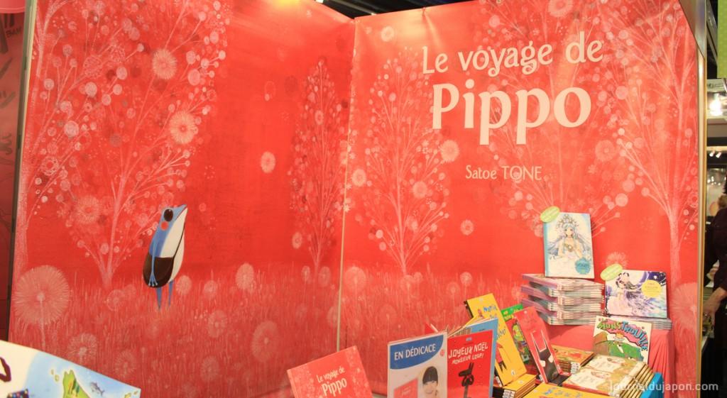 Pippo à l'honneur sur le stand nobi nobi du SLPJ 2014