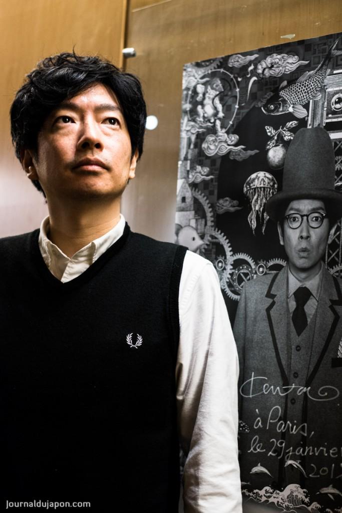 Kentarô Kobayashi et monsieur Potsunen ©Photo Pascal Voglimacci