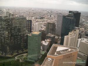 Nishi Shinjuku - Vue de l'observatoire du Tokyo Metropolitan Tower