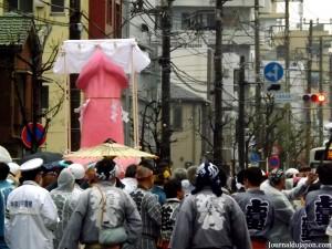 La procession avec le membre d'honneur