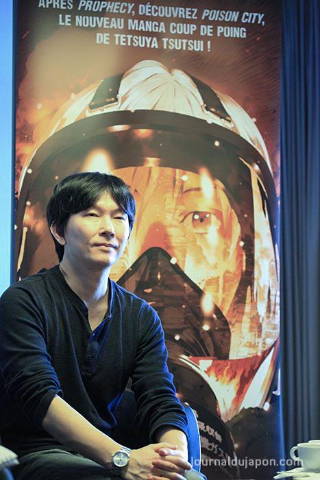 Tetsuya Tsutsui - Photo Natacha Parent ©journaldujapon.com