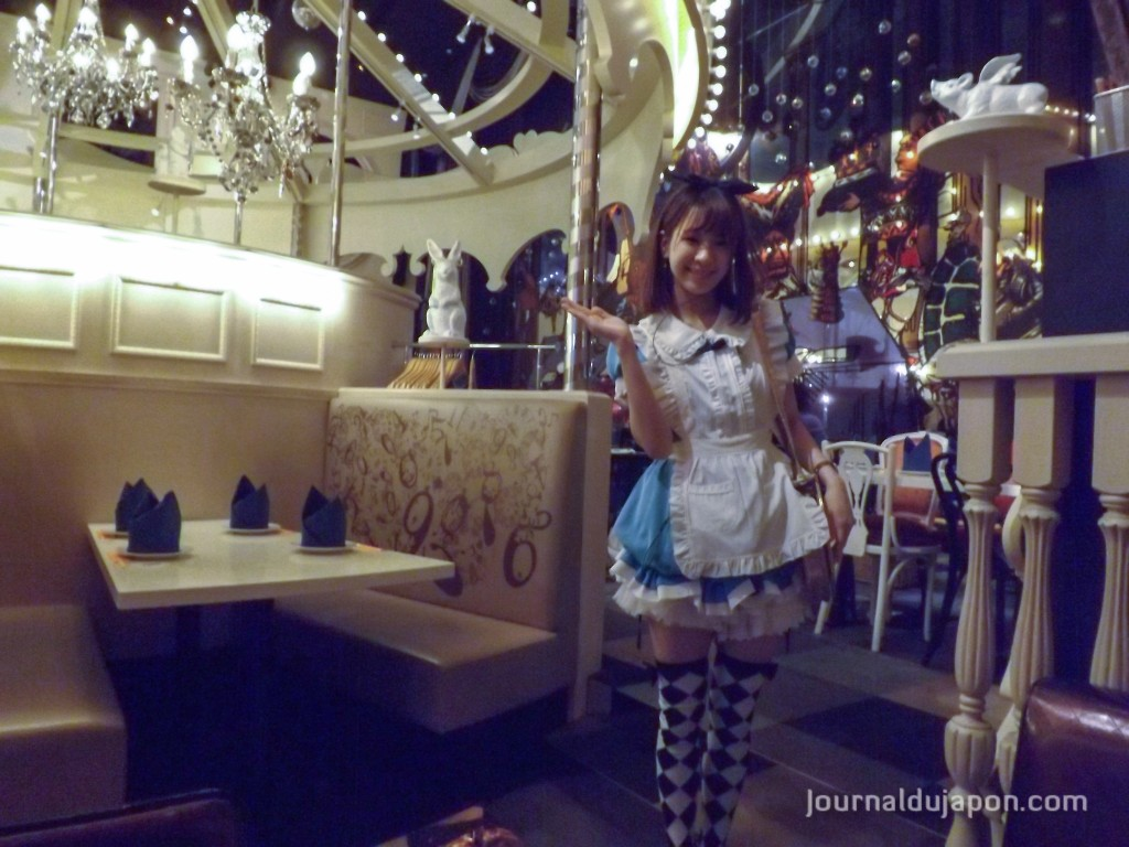 Intérieur du Alice's fantasy