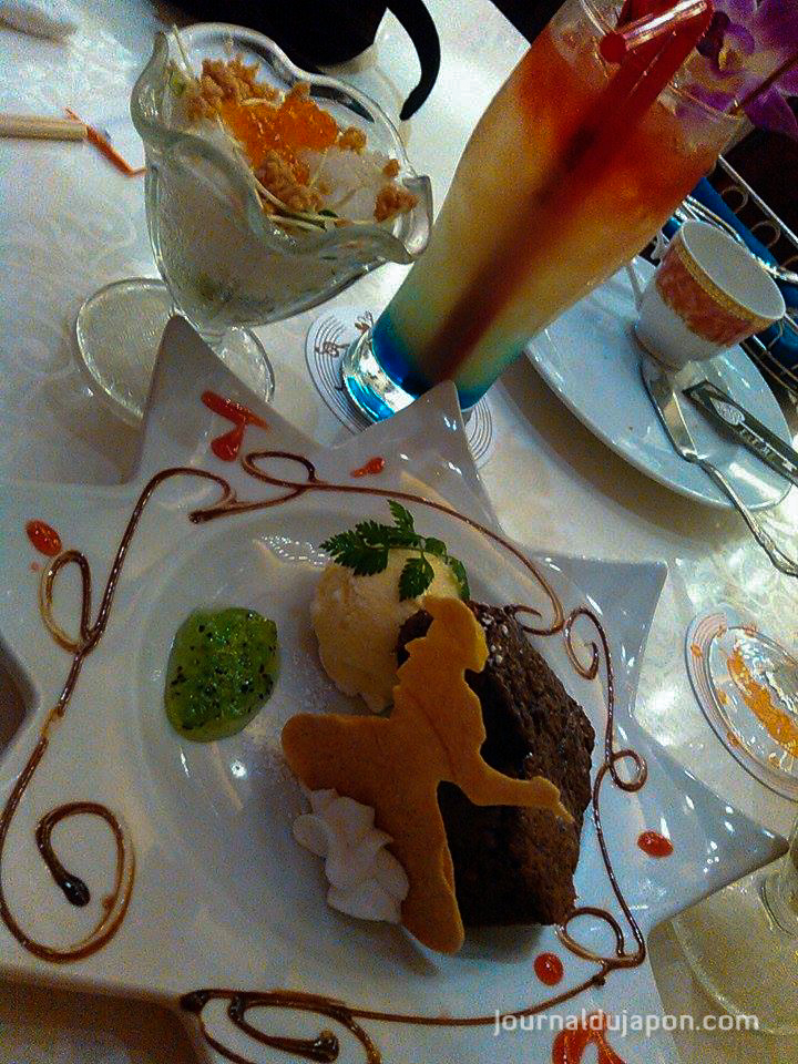 Un dessert au Alice's fantasy