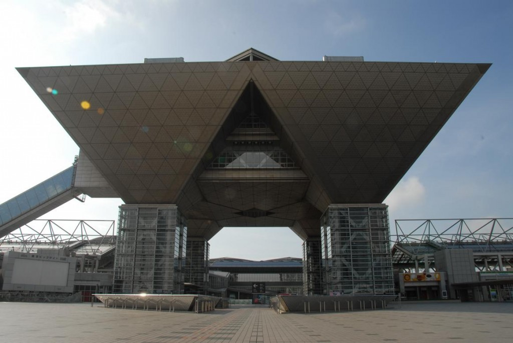 Le Tokyo Big Sight, où a lieu deux fois par an le Comic Market