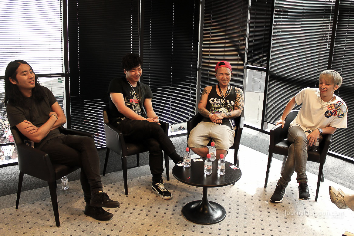 Itw Back-On Japan Expo 2015