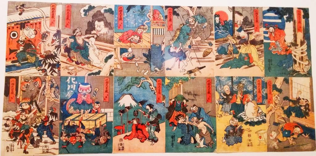 L'histoire des quarante-sept rônins joués par des monstres