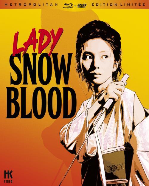 La jaquette du DVD Lady Snowblood