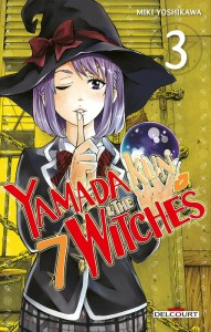 Yamada-kun & the 7 Witches 3 - Delcourt