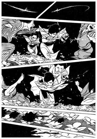 Un manga stylisé à l'extrème