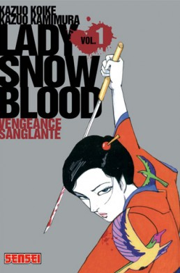 La couverture tu tome 1 de Lady Snowblood