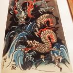 Dragons, par Kuniyoshi