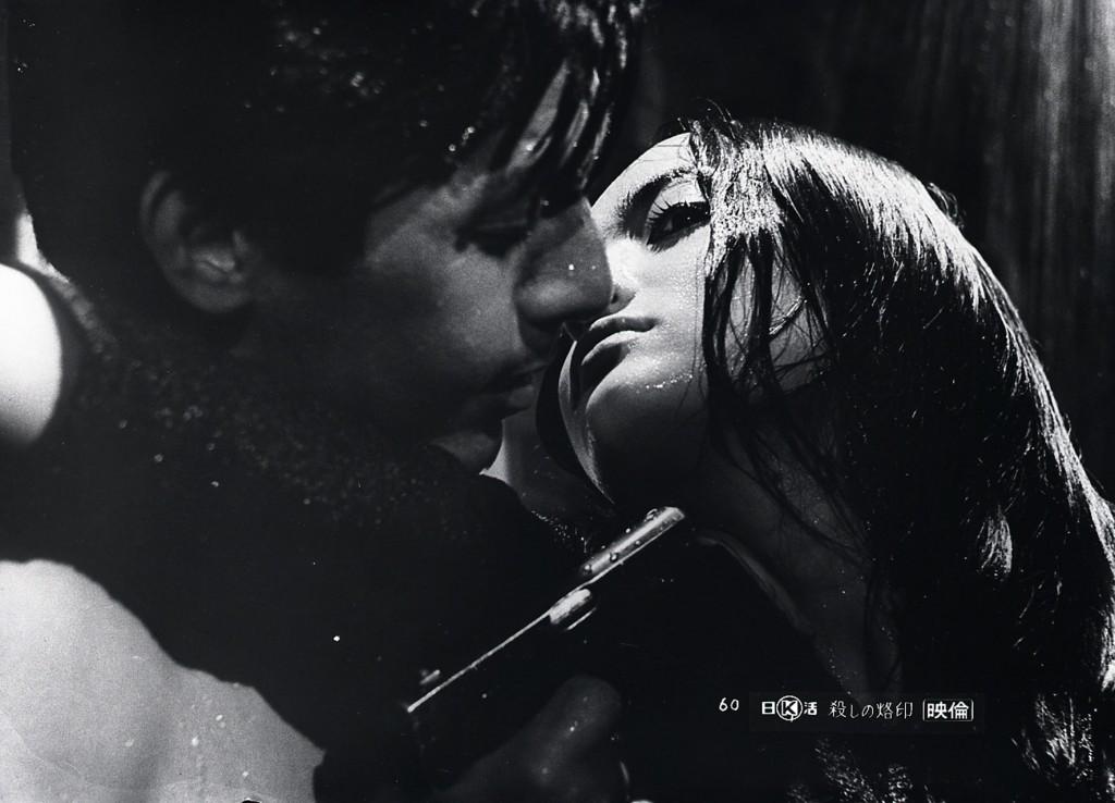 Seijun SUZUKI fait montre d'un stupéfiant sens esthétique dans ses films - ici La Marque du Tueur