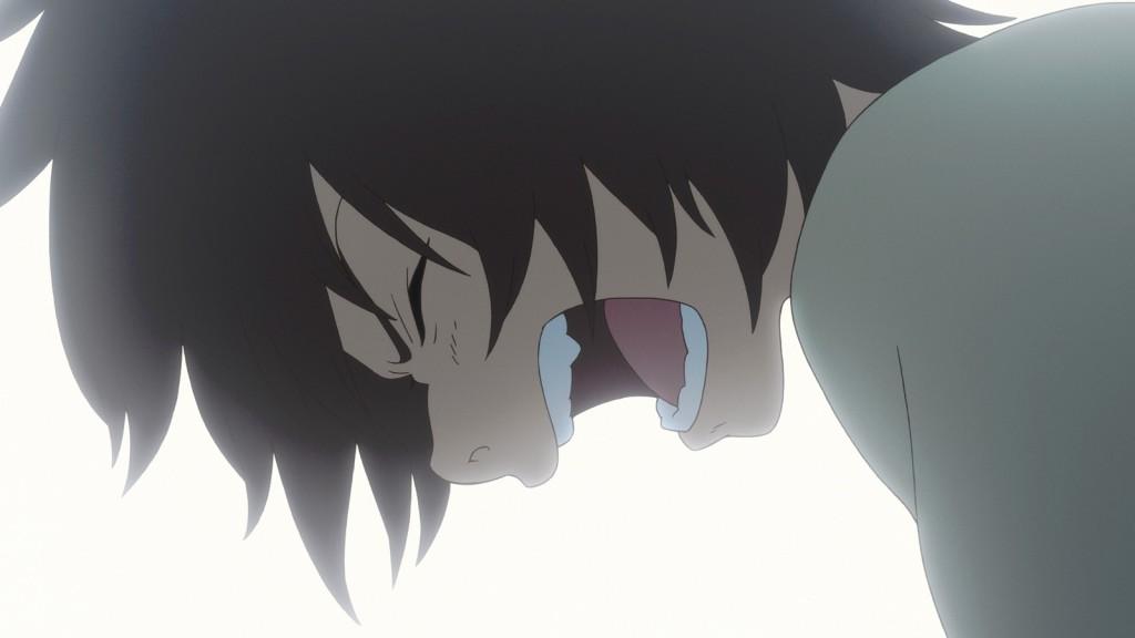 Kyuta en proie à une grande détresse.