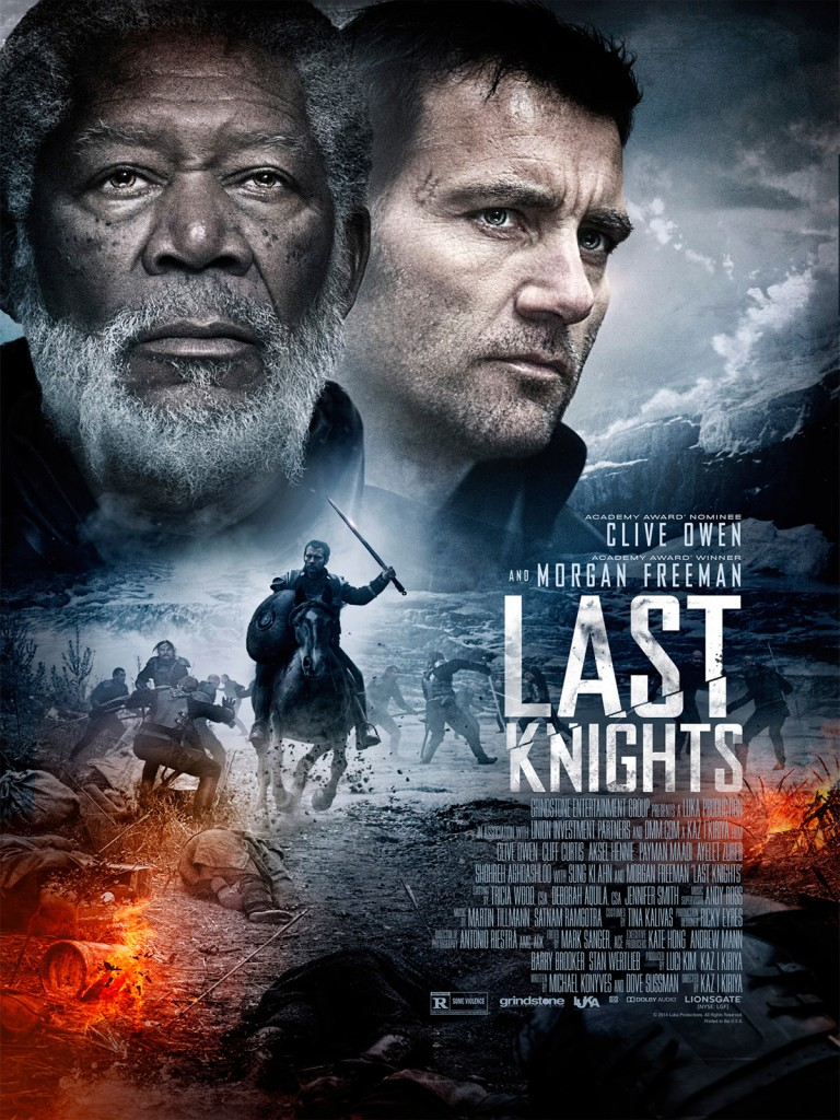 L'affiche du film Last Knights