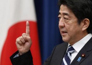 Abe Shinzo, actuel premier ministre Japonais