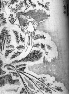 Yuki-Onna, Sekien Toriyama