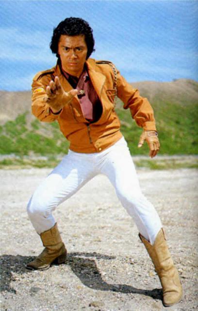 Kenji OBA est K-OR/Gavan, le shérif de l'espace.