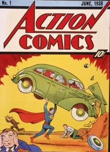 Superman Action Comics 1938