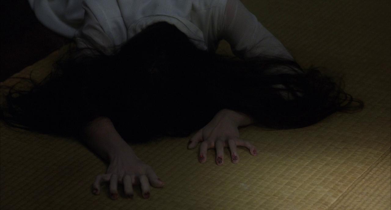 Sadako crawls