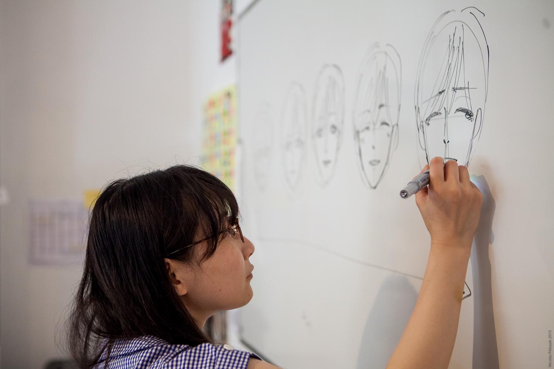 Chiharu NAKASHIMA, responsable de la section manga à l'EIMA