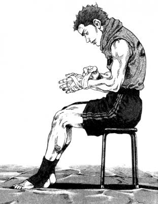 Coq de combat © Izo Hashimoto & Akio Tanaka / Kodansha Ltd.