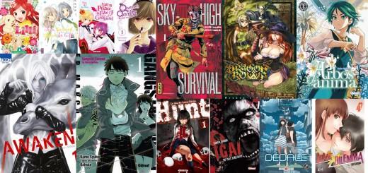 Manga Juillet nouveautés