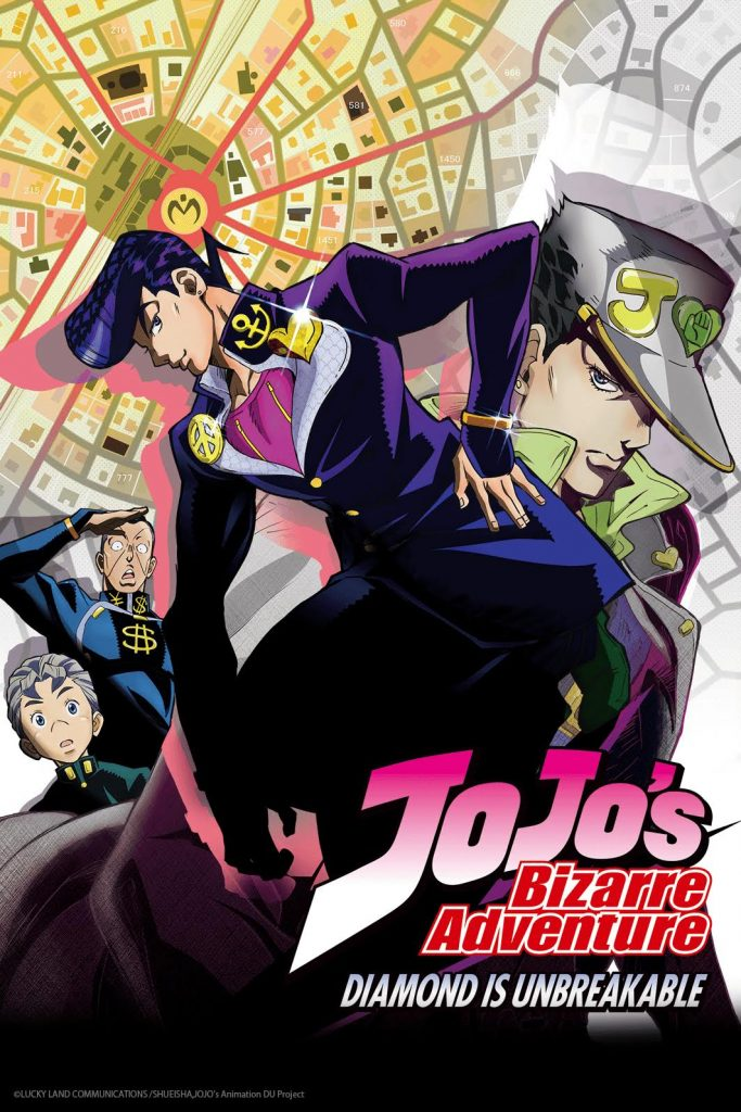 Jojo's Bizarre Adventure Diamond is Unbreakable