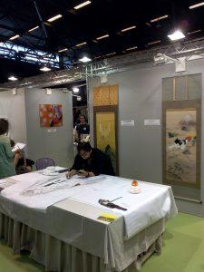 Tsutomu Hirao dessine Hatsune Miku à Japan Expo