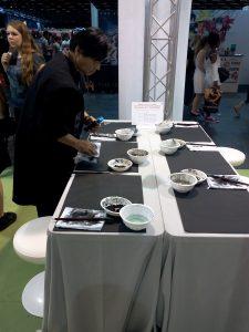 Atelier peinture avec Tsutomu Hirao à Japan Expo