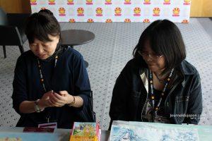 Yoko Hanabusa et Harumo Sanazaki en pleine réflexion