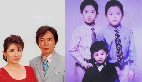 Masako et Shinichi Mori - Takahito, Tomohiro et Hiroki Moriuchi