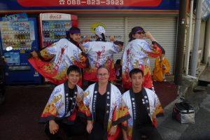 Les ambassadeurs à Kochi Yosako Paris Hinodemai