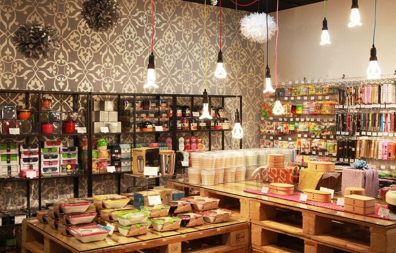 La boutique à Kyoto attire principalement des touristes du monde entier.