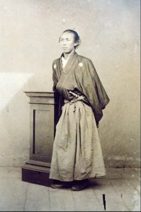 Ryoma en tenue traditionnelle
