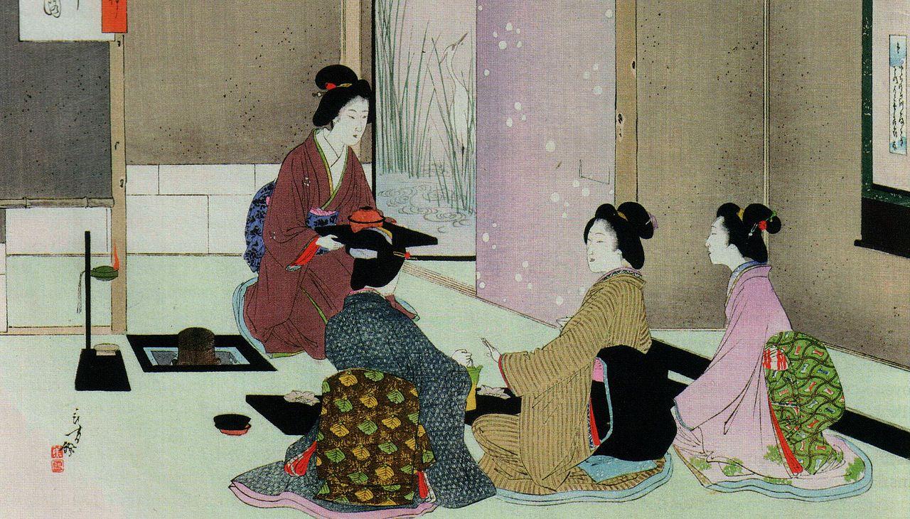 """Résultat de recherche d'images pour """"cérémonie du thé Maison du japon"""""""