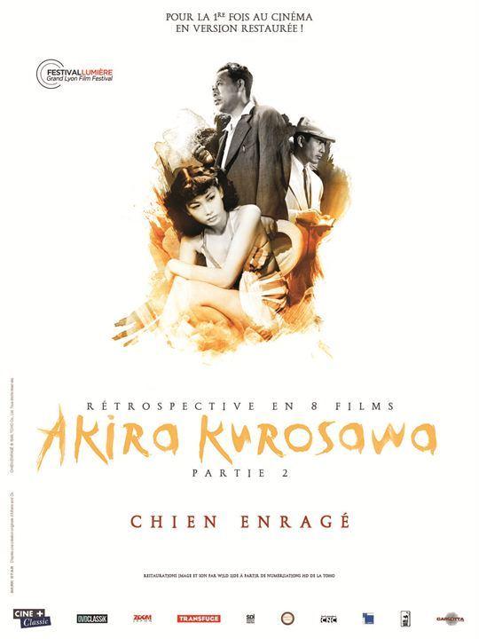 Chien Enragé Affiche Akira KUROSAWA