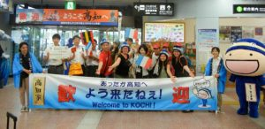 À l'arrivée à l'aéroport de Kochi