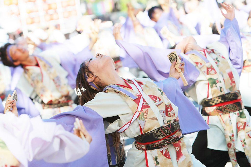 Yosakoi Performers at Kochi Yosakoi Matsuri 2008