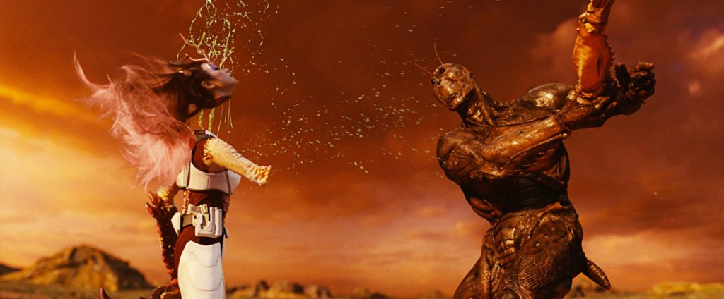 Les cafards déciment les membres de la mission Bugs2 dans un déluge de violence.