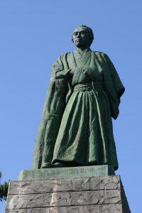 Statue de Ryoma. Crédits: Traveldreamscape