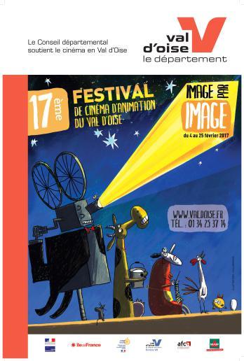 17ème Edition du Festival du Cinéma d'Animation du Val d'Oise