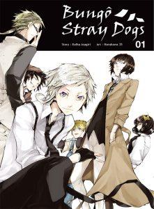 Couverture du tome 1 du manga Bungo Stray Dogs