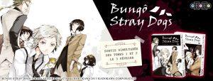 Sortie du manga Bungo Stray Dogs