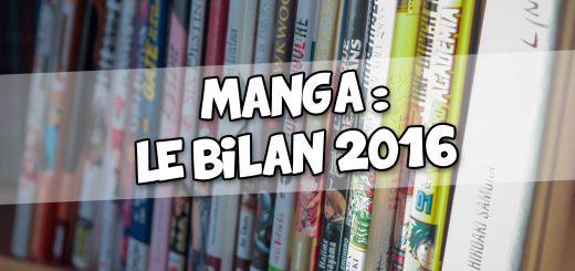 Bilan Manga 2016